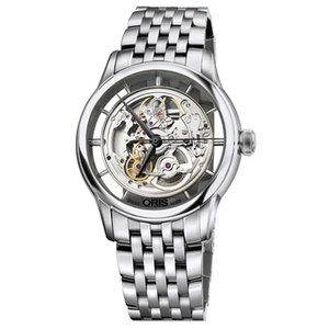 ORIS オリス アートリエ トランスルーセント スケルトン メンズ 腕時計 73476844051M Artelier Translucent Skeleton euro