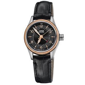 オリス ビッグクラウン ポインターデイト 59476804364D レディース 腕時計 ORIS B...