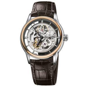 ORIS オリス アートリエ トランスルーセント スケルトン メンズ 腕時計 73476846351D Artelier Translucent Skeleton|euro
