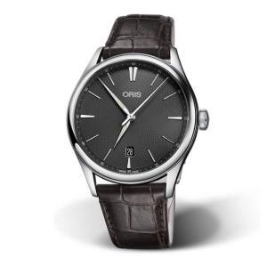 特価 55%OFF! オリス アートリエ デイト 73377214053D 腕時計 メンズ 自動巻 ...