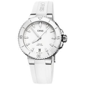 オリス アクイス デイト 73377314151R レディース 腕時計 ORIS Aquis Dat...