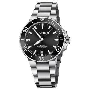 オリス アクイス デイト 73377324134M レディース 腕時計 ORIS Aquis Dat...