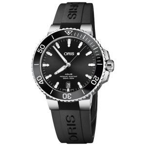 特価 55%OFF! オリス アクイス デイト 73377324134R レディース 腕時計 ORI...