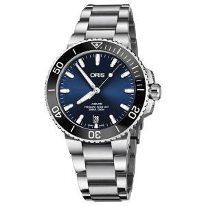 オリス アクイス デイト 73377324135M レディース 腕時計 ORIS Aquis Dat...