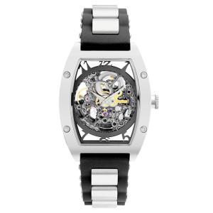 1abfac5c8f アルカフトゥーラ 978E メカニカルスケルトン トノー 自動巻き 腕時計 メンズ ARCAFUTURA