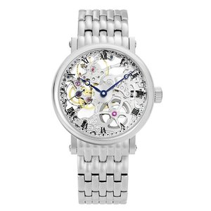152e50a7be アルカフトゥーラ メカニカルスケルトン P0110201M 手巻 腕時計 メンズ ARCAFUTURA