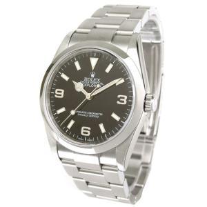 ROLEX 腕時計 エクスプローラーI ロレックス メンズ 腕時計 114270 ブラック 自動巻き Cal.3130 FINAL SALE|euro