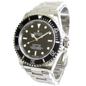 ROLEX 腕時計 サブマリーナ ロレックス メンズ 腕時計 14060 ブラック 自動巻き Cal.3130 FINAL SALE<国内発送>|euro