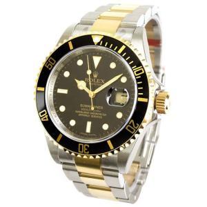 ROLEX 腕時計 サブマリーナ デイト ロレックス メンズ 腕時計 16613 ブラック 自動巻き Cal.3135 <国内発送>|euro