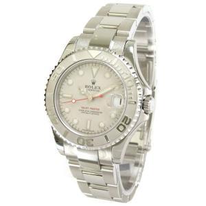 ROLEX 腕時計 ヨットマスター ロレジウム ロレックス ボーイズ 腕時計 168622 自動巻き Cal.2235 プラチナ <国内発送>|euro