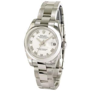 ROLEX 腕時計 デイトジャスト ロレックス レディース 腕時計 179160 Oy wh ローマ 自動巻き Cal.2235 FINAL SALE|euro