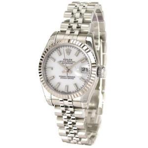 ROLEX 腕時計 デイトジャスト ロレックス レディース 腕時計 179174 wh 自動巻き Cal.2235 FINAL SALE|euro
