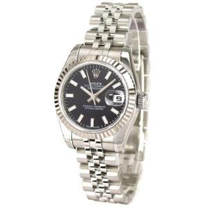 ROLEX 腕時計 デイトジャスト ロレックス レディース 腕時計 179174 bk 自動巻き Cal.2235 FINAL SALE|euro