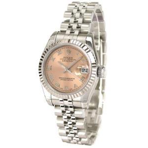 ROLEX 腕時計 デイトジャスト ロレックス レディース 腕時計 179174 pk ローマ 自動巻き Cal.2235 FINAL SALE|euro
