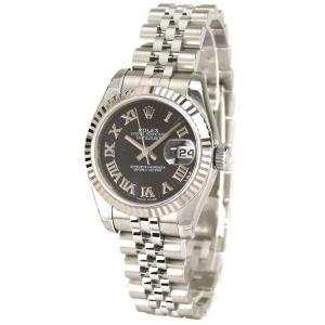 ROLEX 腕時計 デイトジャスト ロレックス レディース 腕時計 179174 サンビーム bk ローマ 自動巻き Cal.2235 FINAL SALE|euro