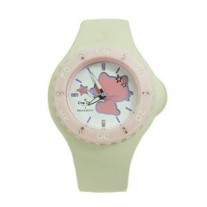ワケあり Che Che NewYork チチニューヨーク レディース 腕時計 CCHK1204-WH Hello Kitty Collection|euro