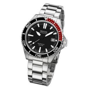 epos  エポス Sportive 腕時計 3413BKRDM 自動巻|euro