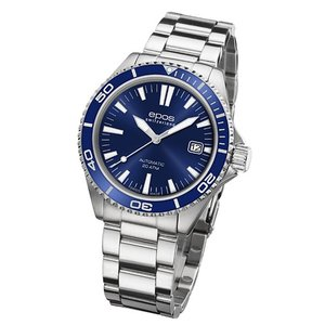 epos  エポス Sportive 腕時計 3413BLM 自動巻|euro