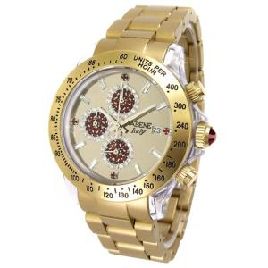 ワケあり アウトレット ヴァベーネ CHGD03 腕時計 交換ベルト付 クロノ VABENE Chrono バベーネ|euro