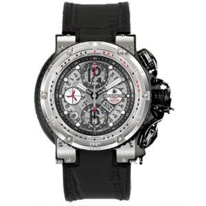 AQUANAUTIC アクアノウティック 腕時計 ハーフスケルトン KRP02SKNAJ02 KING CHRONOGRAPH Half Skeleton|euro