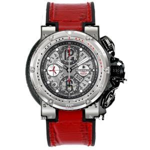 AQUANAUTIC アクアノウティック 腕時計 ハーフスケルトン KRP02SKNAJ09 KING CHRONOGRAPH Half Skeleton|euro