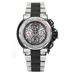 AQUANAUTIC アクアノウティック 腕時計 ハーフスケルトン KRP02SKNAT02 KING CHRONOGRAPH Half Skeleton|euro