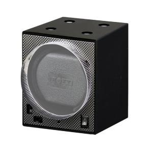 ボクシーデザイン ウォッチワインダー アダプター無し BW-BK ※時計は含まれおりません。※単品のみでは使用不可。 BOXY|euro