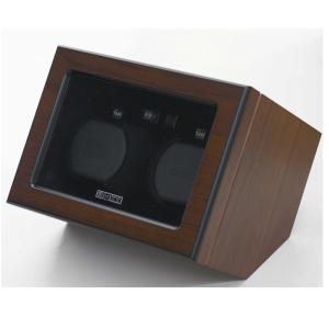 BOXY Designボクシーデザイン ウォッチワインダー アダプター付 DC02DS-BR※時計は含まれておりません|euro