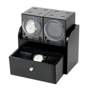 入荷予約販売(納期約2〜3ヶ月後) ボクシーデザイン ウォッチワインダー2個&ウッドハウジングセット BRK-BFW2 ※時計は含まれておりませんBOXY Design|euro