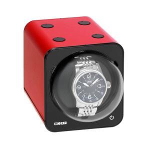 ボクシーデザイン ファンシーブリック ウォッチワインダー FBWF-RD アダプター付 FANCY BRICKBOXY Design ※時計は付属していません|euro