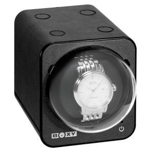 ボクシーデザイン ファンシーブリック ウォッチワインダー FBWF-LBK アダプター付 BOXY Design FANCY BRICK ※時計は含まれません|euro