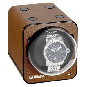 ボクシーデザイン ファンシーブリック ウォッチワインダー FBWF-LBR アダプター付 BOXY Design FANCY BRICK ※時計は含まれません|euro