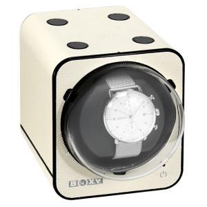 ボクシーデザイン ファンシーブリック ウォッチワインダー FBWF-LIV アダプター付 BOXY Design FANCY BRICK ※時計は含まれません|euro