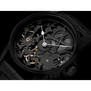 シャウボーグ PALAONHOROLOGIE-BKPVD   ウニカトリウム パレオンオロロジー 腕時計 メンズ SCHAUMBURG Watch UNIKATORIUM|euro