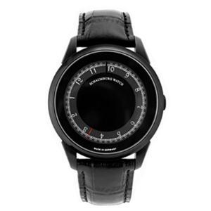 シャウボーグ ミスティック ブラック DISK MYSTIQUE-PVD メンズ 腕時計 自動巻 SCHAUMBURG|euro