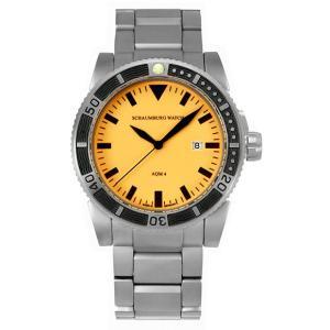 シャウボーグ ノウティックフィッシュ AQM4-ORM 自動巻き 腕時計 メンズ SCHAUMBURG NAUTICFISH|euro