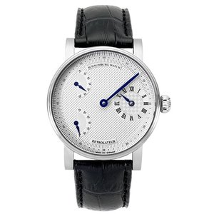 シャウボーグ RETROLATEUR1-SL 腕時計 メンズ 機械式時計 手巻き レトロレーター SCHAUMBURG watch|euro