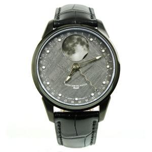 シャウボーグ グランド パーペチュアルムーン メテオライト MOON METEORITE-PVD 腕時計 メンズ SCHAUMBURG GRAND PERPETUAL|euro