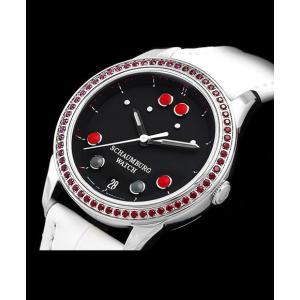 シャウボーグ ベビーフロッグストーン BABYFROG STONE トパーズ 腕時計 レディース SCHAUMBURG|euro