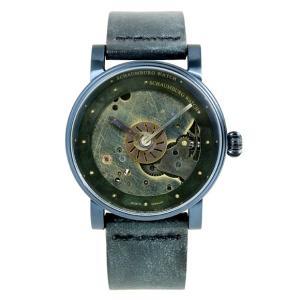 シャウボーグ ウニカトリウム スチームパンク2 STEAMPUNK2 ヴィンテージ加工 腕時計 メン...