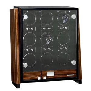 ユーロパッション ウォッチワインディング ボックス アダプター付 FWD-9101EB  ※時計は含まれておりません EURO PASSION|euro