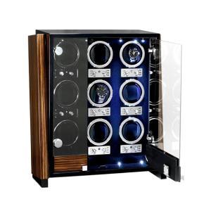 ユーロパッション ウォッチワインディング ボックス アダプター付 FWD-9101EB  ※時計は含まれておりません EURO PASSION|euro|02