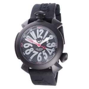 ガガミラノ  GAGA MILANO 腕時計 5042RUBBER-BLK  メンズ euro