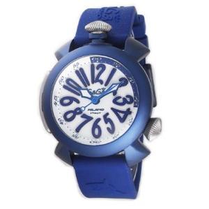 ガガミラノ  GAGA MILANO 腕時計 5043RUBBER-BLU  メンズ euro