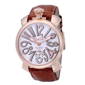 ガガミラノ  GAGA MILANO 腕時計 5011.8  メンズ euro