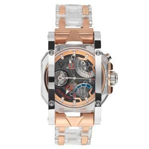 ヴィスコンティ クリスタル デモ イノックス ゴールド W107-01-136-1207 腕時計 メンズ VISCONTI ビスコンティ Crystal Demo Inox Gold|euro