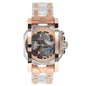 ヴィスコンティ クリスタル デモ フル ゴールド W107-02-147-1207 腕時計 メンズ VISCONTI ビスコンティ Crystal Demo Full Gold|euro