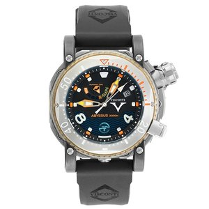 ヴィスコンティ スキューバ アビサス 3000M. W108-02-132-1408 腕時計 メンズ VISCONTI ビスコンティ チタニウム Scuba Abyssus 3000M. |euro
