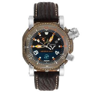 ヴィスコンティ スキューバ アビサス 3000M. ブロンズ W108-01-131-1408 腕時計 メンズ VISCONTI ビスコンティ Scuba Abyssus 3000M.|euro