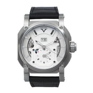 特価 ヴィスコンティ 2スクエアード GMT デュアルタイム グランド デイト エレガンス W102-04-104-010 腕時計 VISCONTI 2Squared GMT|euro
